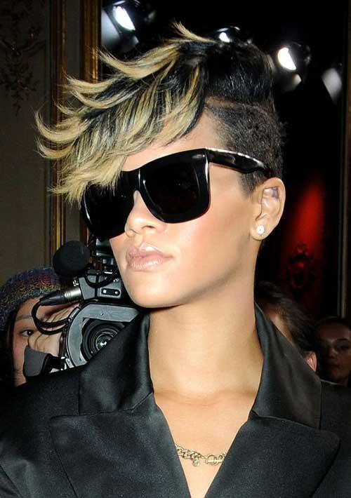 Rihanna Pixie Cut-7