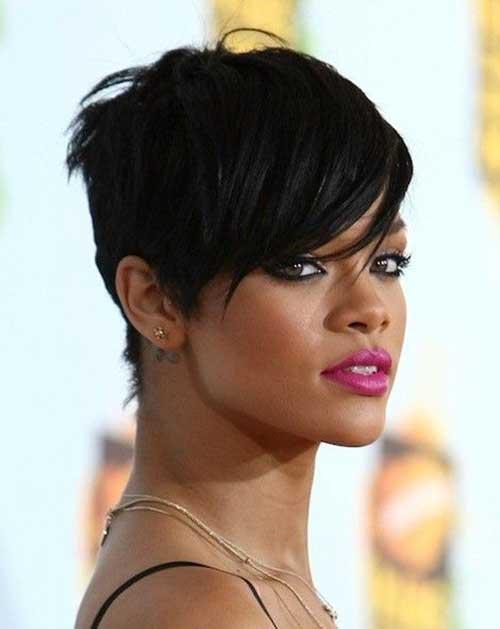 Rihanna Pixie Cut-9