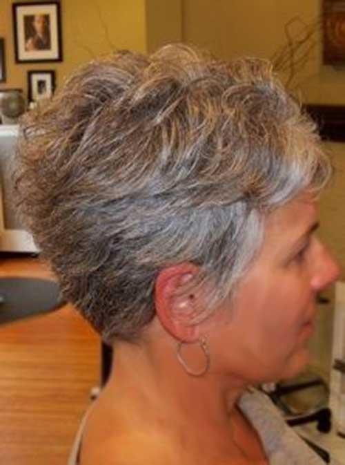 Short Haircuts For Grey Hair Jpg 500 673 Pixels Pixie Cuts