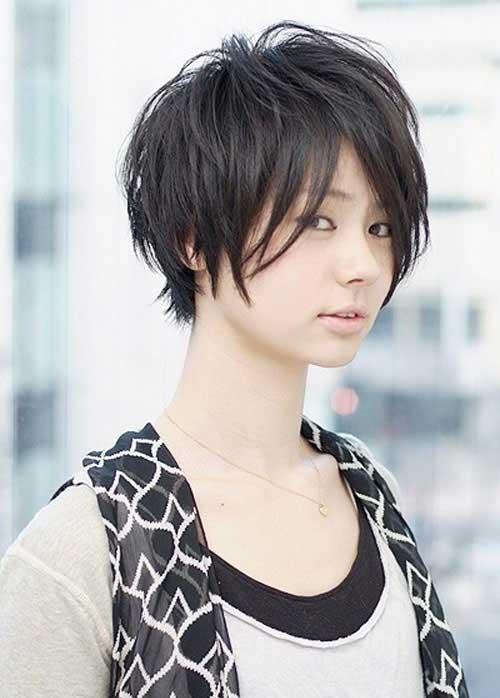 Asian Short Haircut-12