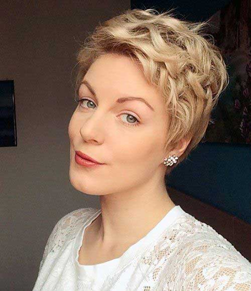 Cute Short Curly Hairstyles-12