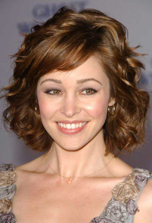 Short Hairstyles for Thick Hair-12