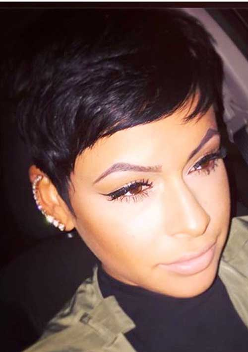 Black Girls with Short Hair-13