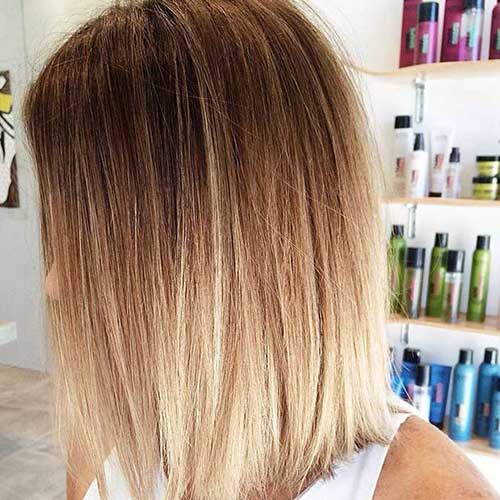 Blonde Ombre Short Hair-13