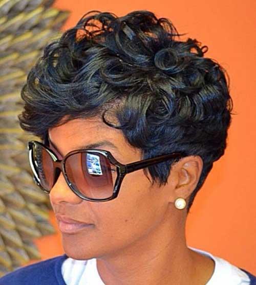 Short Haircuts for Black Women-13