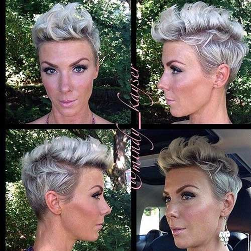 Cute Short Curly Hairstyles-14