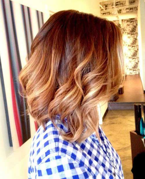 Blonde Ombre Short Hair-15