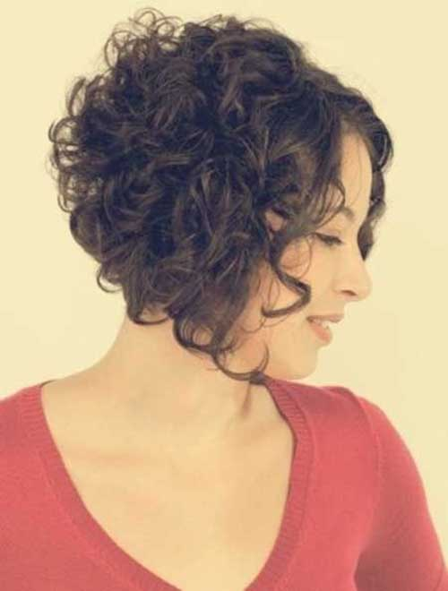 Hairstyles for Short Curly Hair-15