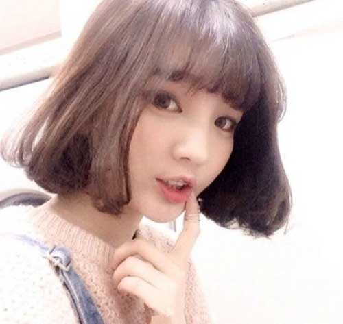 Asian Short Haircut-17