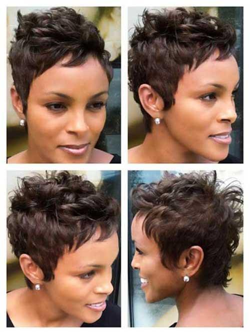 Short Haircuts for Black Women-20