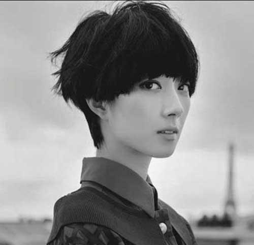 Asian Short Haircut-7