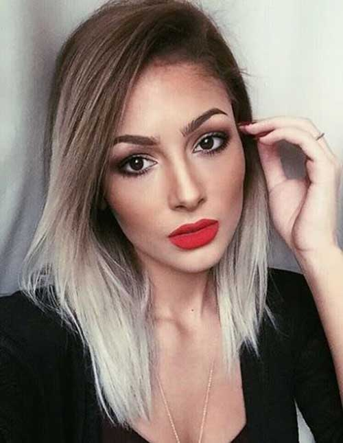 Blonde Ombre Short Hair-7