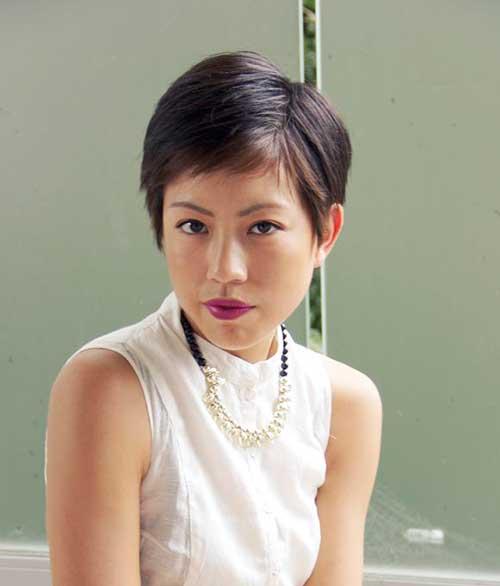 Asian Short Haircut-8