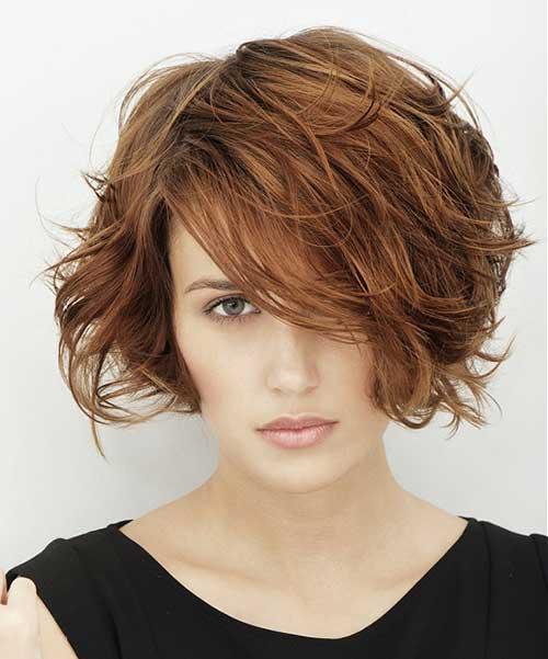 Short Wavy Hair Pics-9