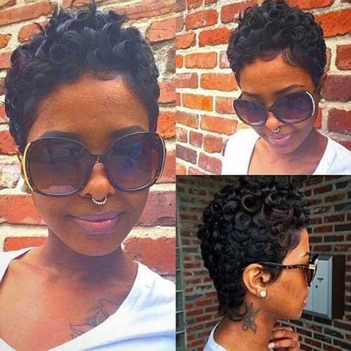 Black Women Short Haircuts