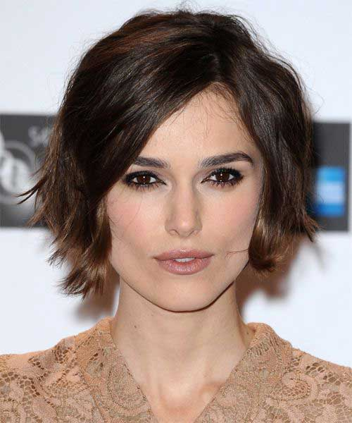 Keira Knightley Hair Bob