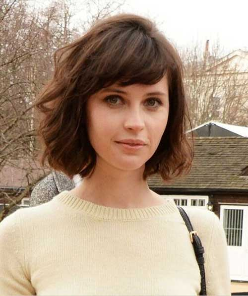 Bob Haircuts with Side Bangs-11