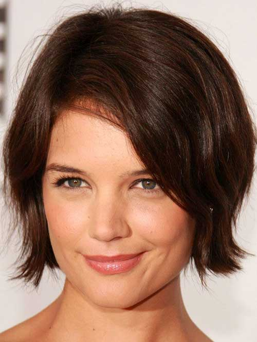 Bob Haircuts with Side Bangs-12