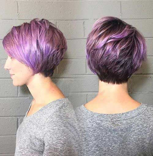Layered Haircuts for Short Hair-12