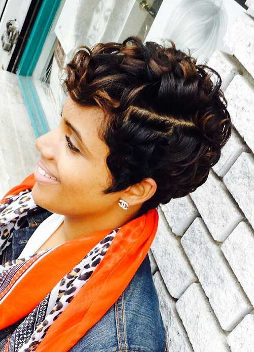 Short Hairstyles for Curly Hair-18