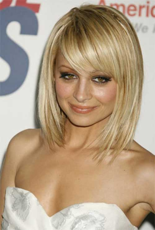 Bob Haircuts with Side Bangs-6