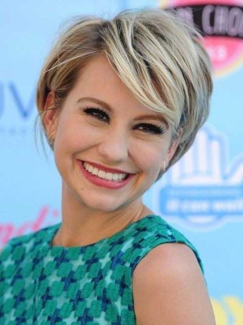 Layered Haircuts for Short Hair-7