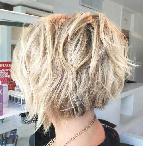 Layered Haircuts for Short Hair-9