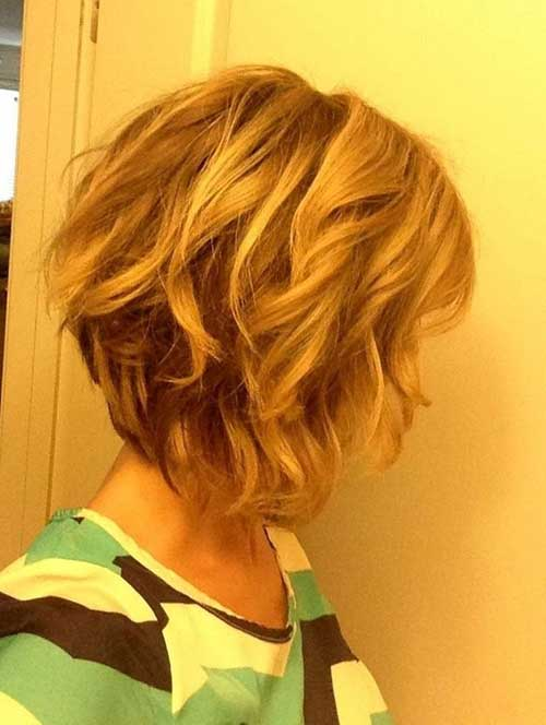 Best Textured Inverted Bob Haircuts