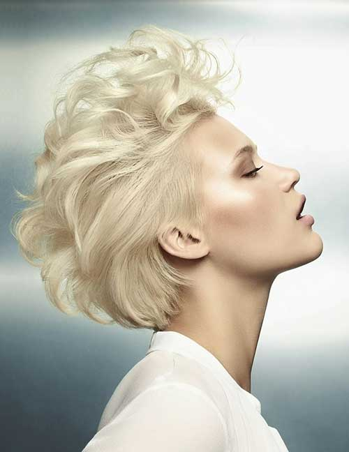 Blonde Trendy Short Hair Styles