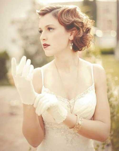 Bob Wedding Bridal Hairstyles 2014