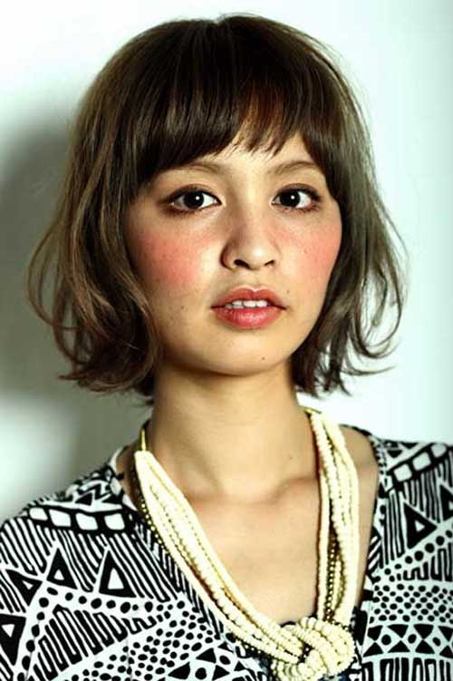 bob haircut with bang 1000 ideas about oval hairstyles on 2680 | Cute Bob with Bangs for Oval Faces
