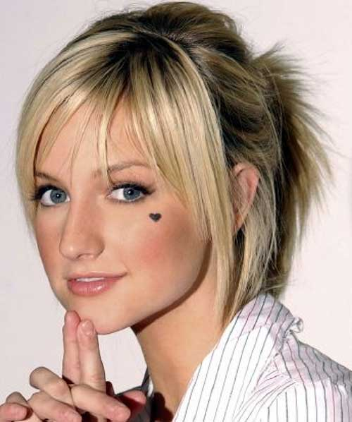 ponytail haircut layers ponytails for layers hairstylegalleries 9917
