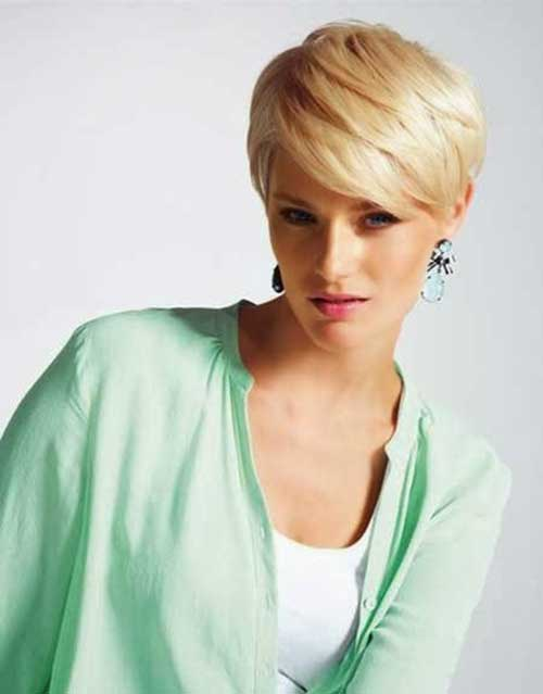Layered Straight Pixie Hair Cuts