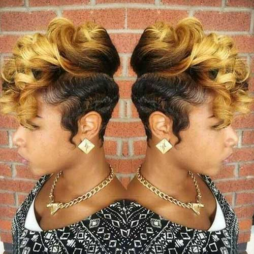 Pictures of Short Curly Pixie Hair Styles