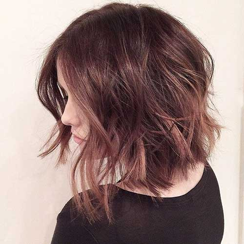 Pictures of Wavy Short Hair Cuts