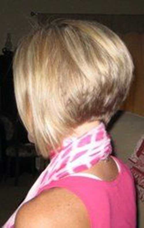 Pictures of Short Hair Styles Back View