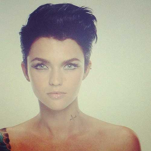 Short Dark Hair Styles Pictures Ideas