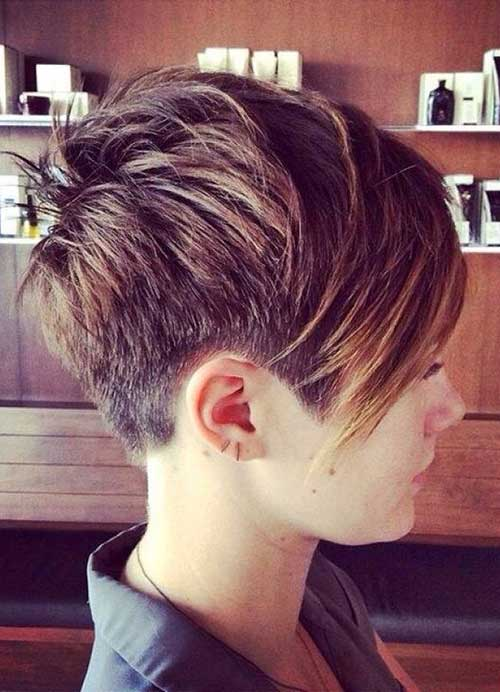 Short Layered Pixie Cut Idea