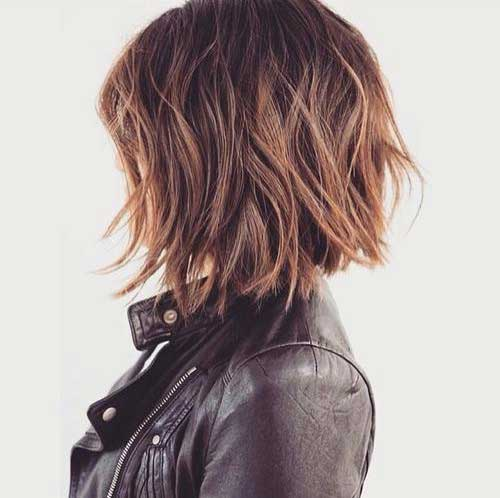 Trendy Choppy Short Bob Cuts 2015