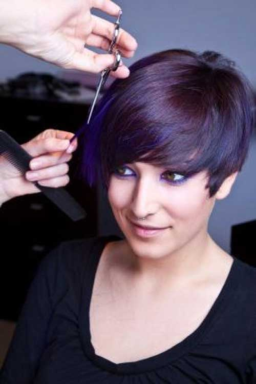 Trendy Edgy Short Hairstyles