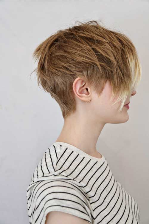 Trendy Layered Pixie Hair Cuts