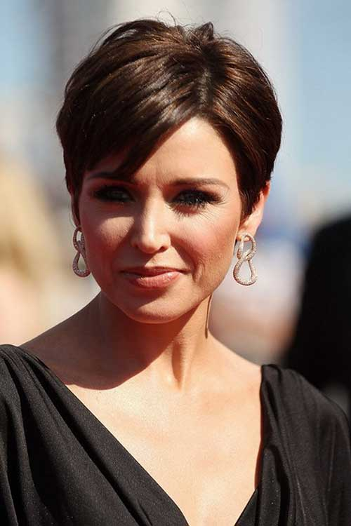 Trendy Short Dark Hair Ideas