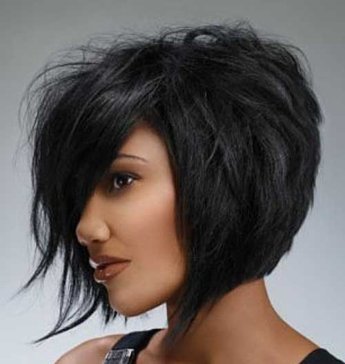 Trendy Short Messy Bob Hair