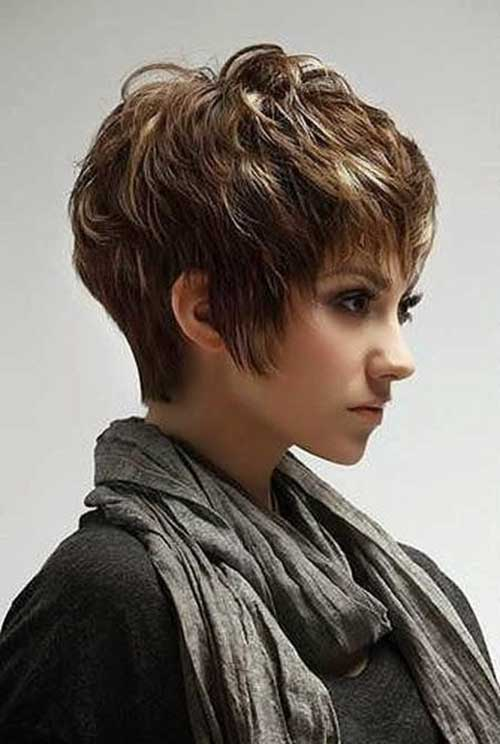 Trendy Short Layered Pixie Hair
