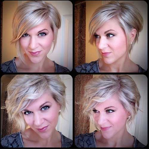 Hairstyles for Short Wavy Hair-12