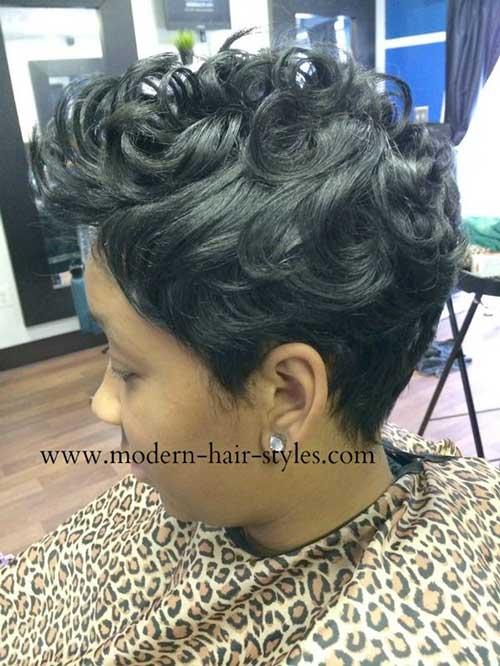 Black Women Short Hairstyles-13
