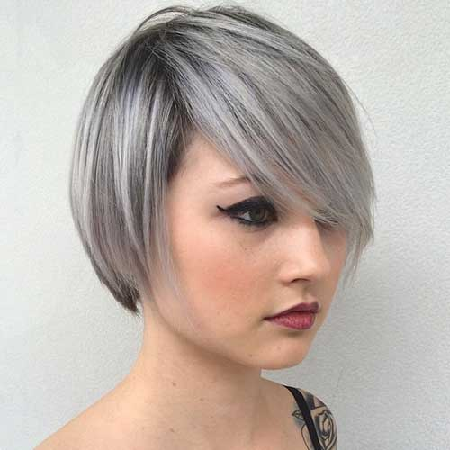 Cute Short Hair Styles-13