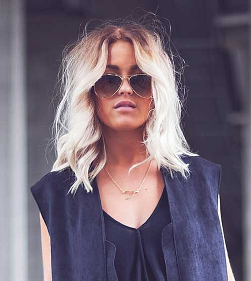 Hairstyles for Medium Short Hair-14