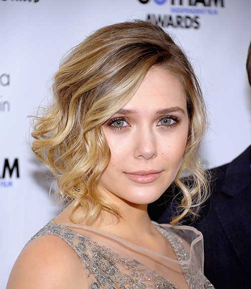 Hairstyles for Short Wavy Hair-16