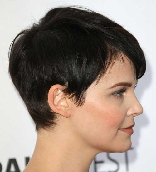 Brunette Pixie Cut-18